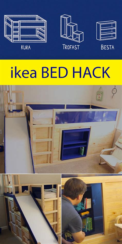 ikea bed hacks ikea bed hack with secret room