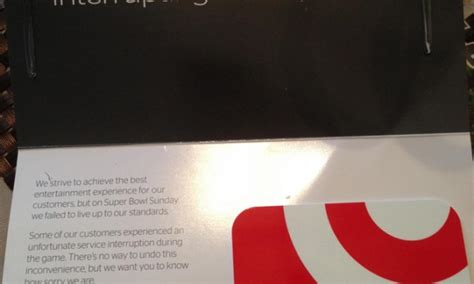 Time Warner Gift Card - time warner cable to give 5 target gift card to subscribers blacked out of the super