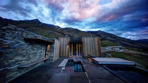 cabins modern architecture houses mountains landscapes walldevil