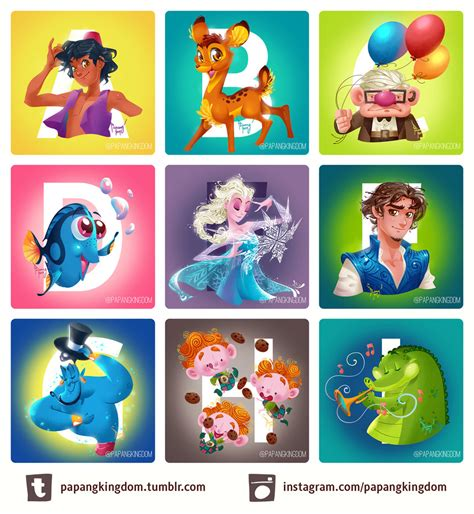 Disney Character Letter Z Disney A Z By Pangketepang