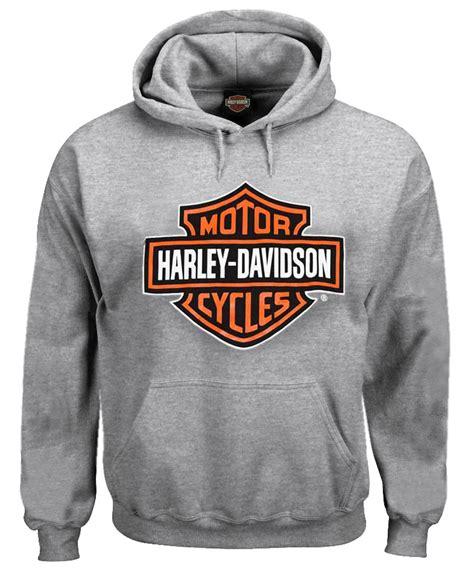 Sweater Hodie Harley Davidson 3 harley davidson s pullover sweatshirt bar shield hoodie gray 30296627 ebay