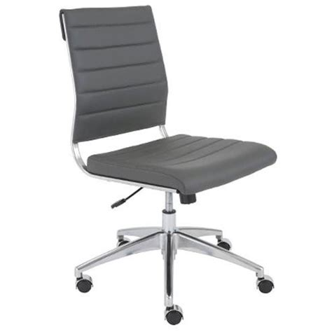 Office Chairs No Arms by Axel Low Back Eurostyle Office Chair Without Arms