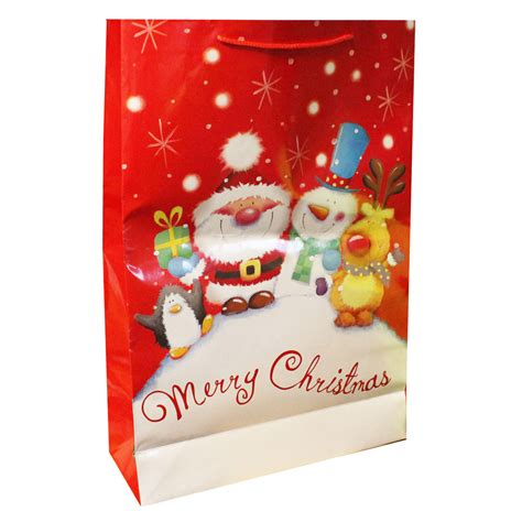 jumbo christmas gift bag assorted christmas gift bags