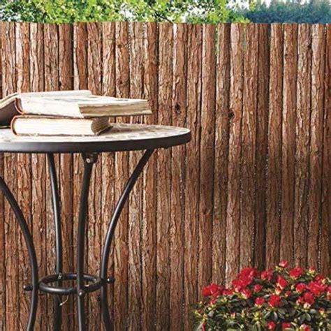 corteccia da giardino frangivista in corteccia naturale cm 300x200h per