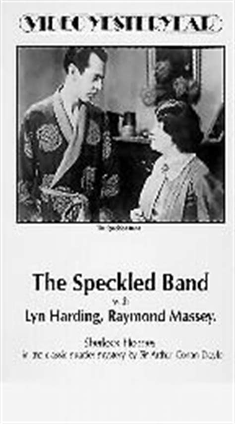 Sherlock Holmes - The Speckled Band (1931) - Rotten Tomatoes