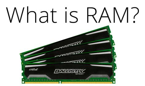 what is a ram the ultimate guide to computer ram logical increments