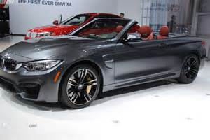 Automotive M A 2015 2015 Bmw M4 Convertible From 2014 New York Auto Show