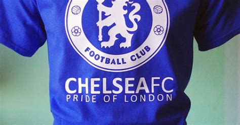 Pride Of Chelsea Tshirt chelsea fc football soccer t shirt jersey the pride of