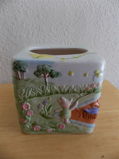 winnie the pooh bathroom set disney classic winnie the pooh 3pc ceramic bathroom accs