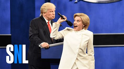 where does hilary clinton live donald trump vs hillary clinton third debate cold open