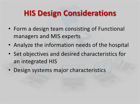 design consideration definition hospital it
