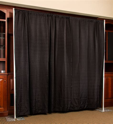 event pipe and drape barricades colorado event rentals