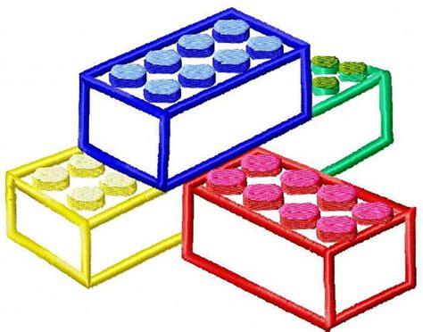 embroidery design lego machine embroidery design lego blocks applique instant