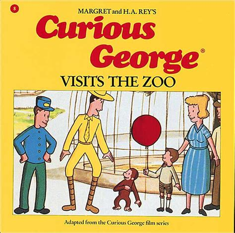 libro stories for the curious curious george visits the zoo by margret rey paperback
