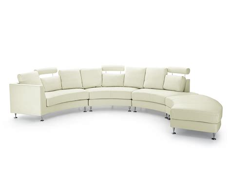 round sectional sofa canada round sectional sofa leather cream rotunde