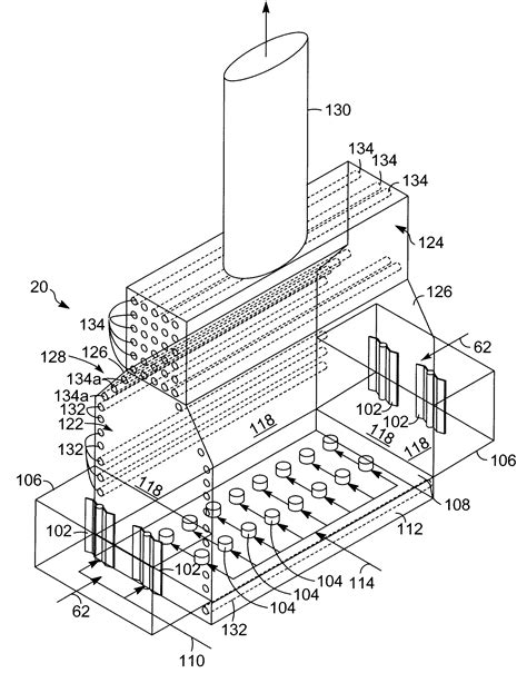 heater convection section patent us7789658 fired heater google patents