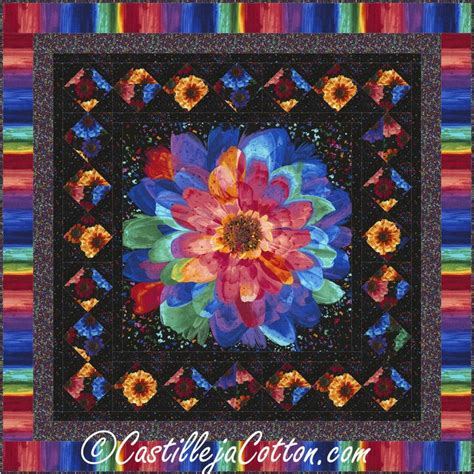 quilt pattern radiant radiant flowers quilt pattern quiltpattern