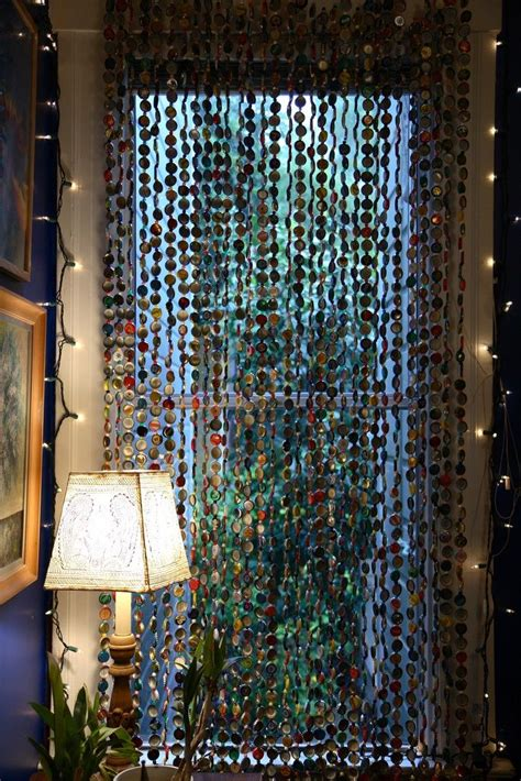 bohemian bead curtain for the nest
