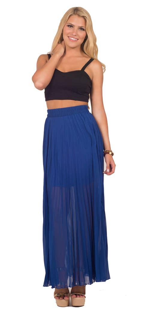 high waisted flowy maxi skirt dress ala