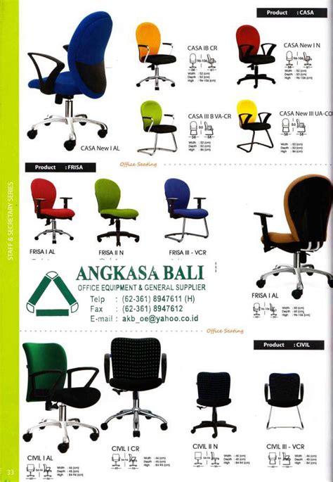 Kursi Kantor Kursi Direktur Kursi Hadap Tipe Pc A 31 C angkasa bali furniture distributor alat kantor jual kursi