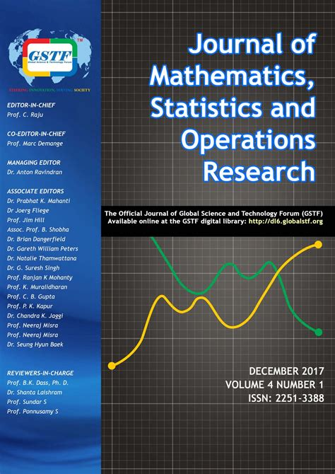 Operation Research Letter Journal Gstf Journal Of Mathematics Statistics And Operations Research Jmsor Global Science
