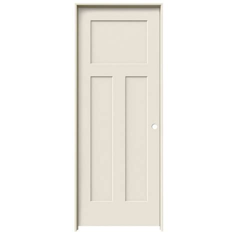 Craftsman Interior Doors Jeld Wen Prehung Hollow 3 Panel Craftsman Interior Door Common 30 In X 80 In Actual 31