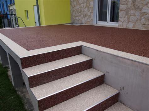 steinteppich terrasse steinteppich bodenbelag ideal f 252 r die