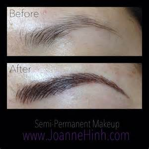 Make Up Artist Classes Hairstroke Eyebrow Embroidery By Joanne Hinh Brow Embroidery Brow Tattoo Permanent Makeup