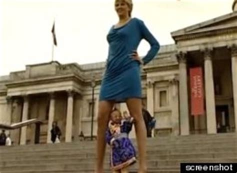 biggest virginia in the world video svetlana pankratova woman with the world s longest legs