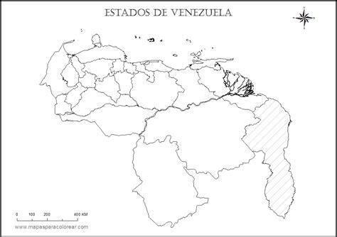 imagenes de venezuela para colorear mapas de venezuela para colorear