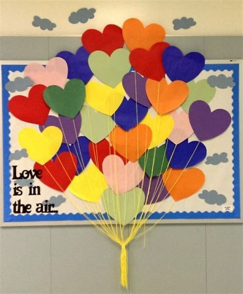 february themes in kindergarten quot love is in the air quot february bulletin board