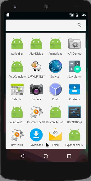 android gallery android gallery view exle tutorial journaldev