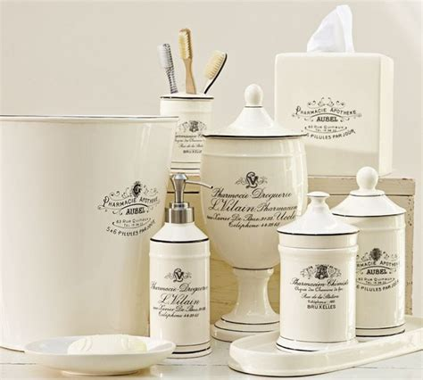 french bathroom accessories sets black white apothecary bath accessories traditional