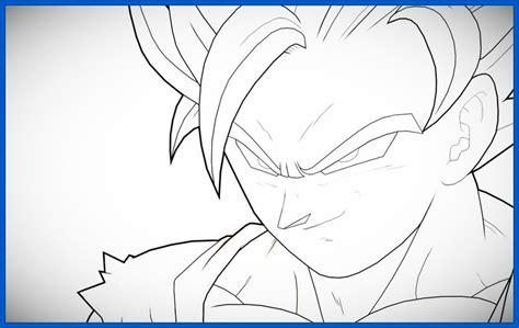 imagenes geniales de dragon ball z geniales dibujos de dragon ball z faciles de hacer