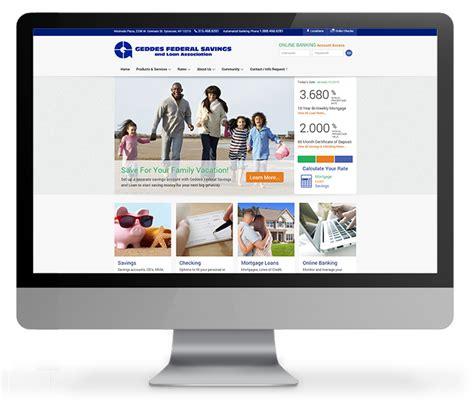 bank website design bank website design acs inc web design seo