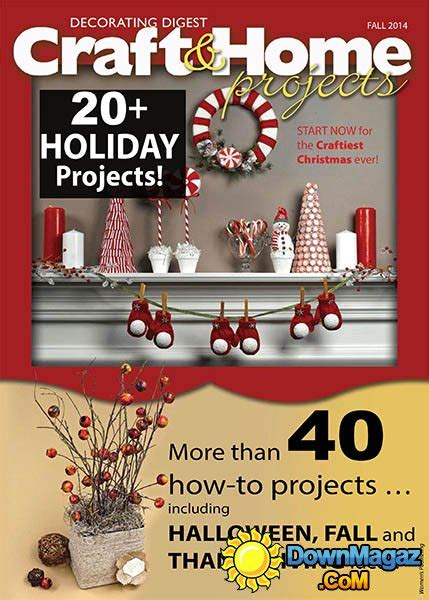 craft home projects magazine craft home projects fall 2014 187 pdf magazines