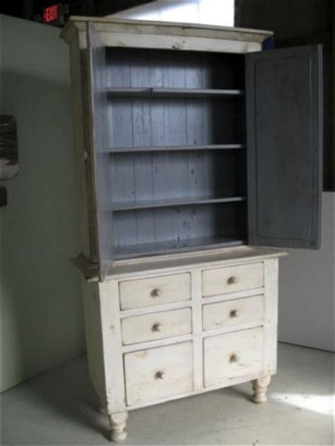 White Living Room Hutch White Country Style Farmhouse Hutch