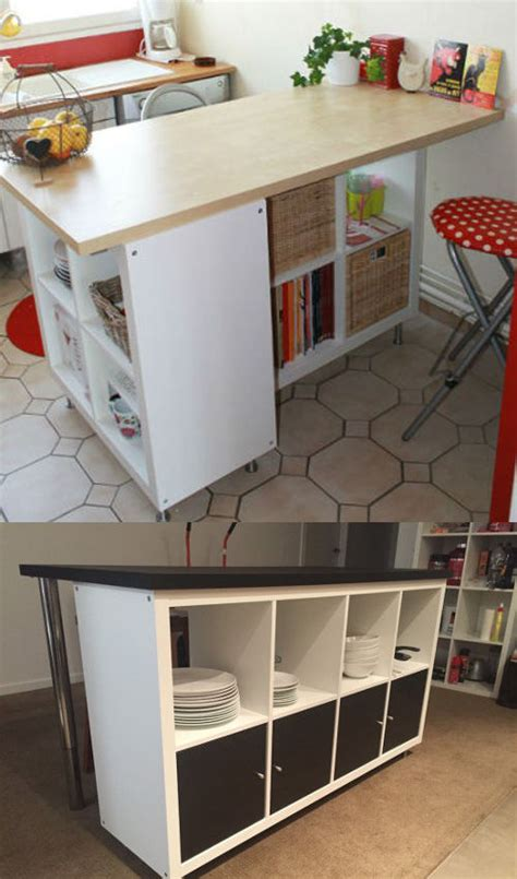 Metal Island Kitchen by Ikea Hack D 233 Tourner Et Customiser Une 233 Tag 232 Re Kallax