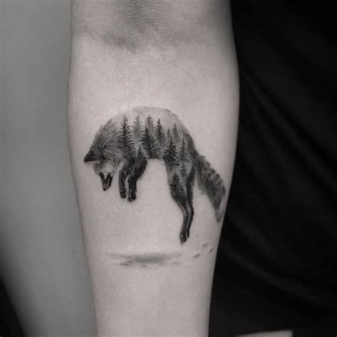46 adorable fox tattoo designs and ideas