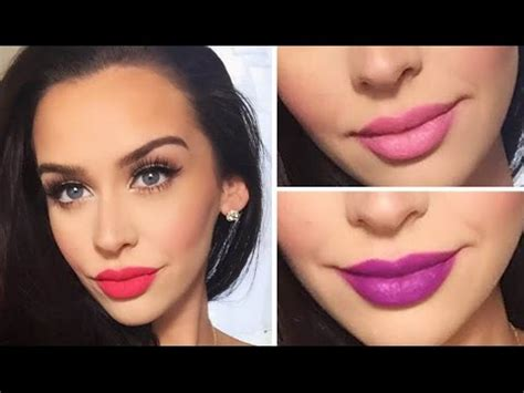 makeup tutorial valentine s day look valentine s day makeup tutorial 3 lip options youtube