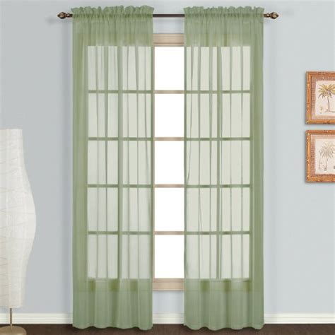 118 inch curtains united curtain monte carlo sheer window curtain panel 118