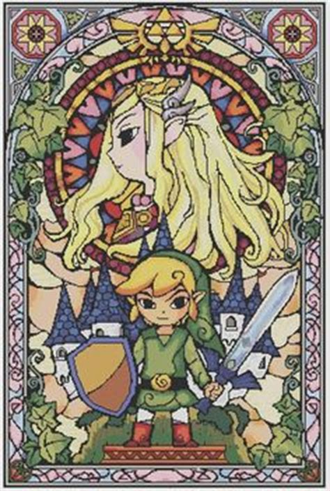 zelda forest pattern all eeveelutions cross stitch and stitches on pinterest
