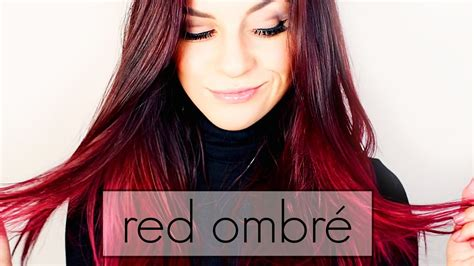 will prell get red dye out of hair red ombr 233 hair dye rot ombr 233 f 228 rben tutorial youtube