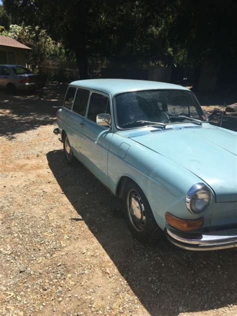 Square Daily Baby Blue 1971 vw squareback baby blue daily driver original