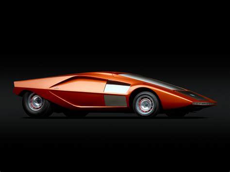 lancia stratos zero 1970 old concept cars