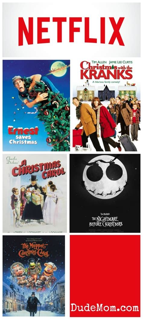 christmas movies on netflix holiday netflix movies to watch with kids dude mom