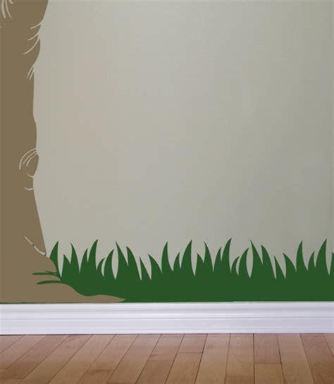 Grass wall decals stickers