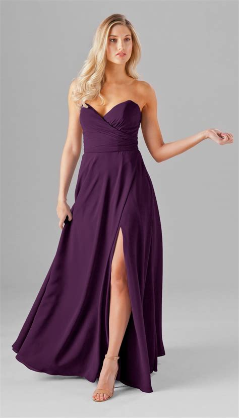 plum color dress best 25 eggplant bridesmaid dresses ideas on