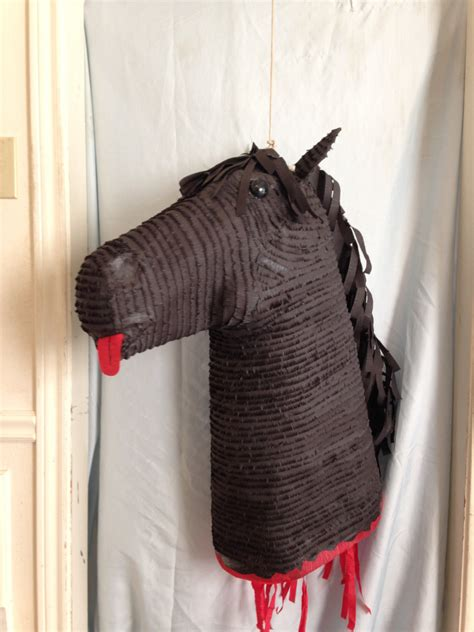 godfather horse head pillow godfather horse head pinata