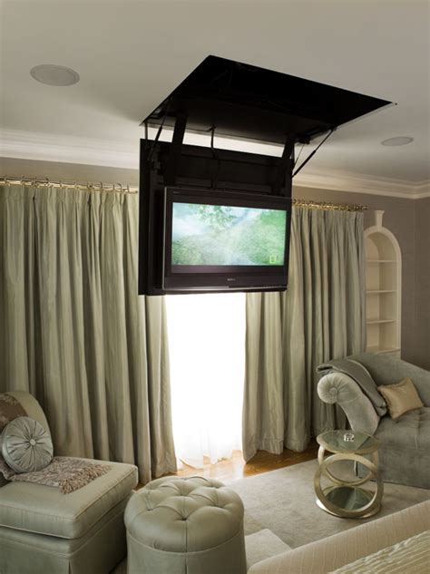 putting a tv in front of a window beautiful articulating tv wall mount in spaces
